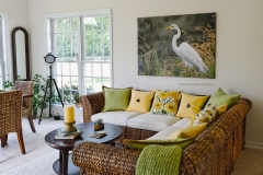 "Great Egret canvas 55"" x 40"" unframed  (image #8223)"
